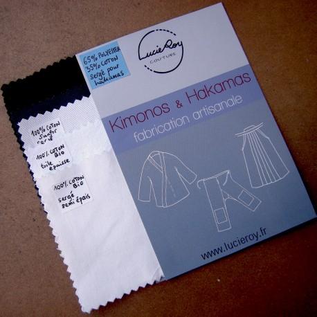 Echantillons de tissus
